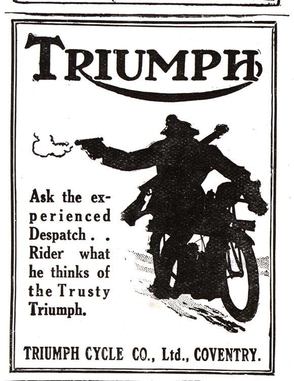 Motorcycles Triumph 1917 0001