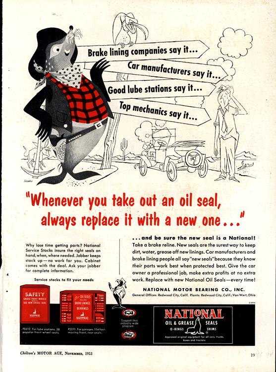National Motor Bearings 1953 0002