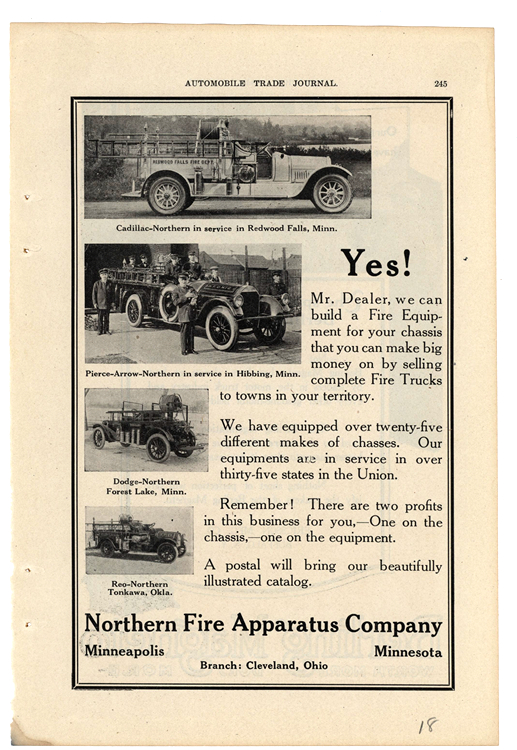 Northern Fire Apparatus 1918 0001