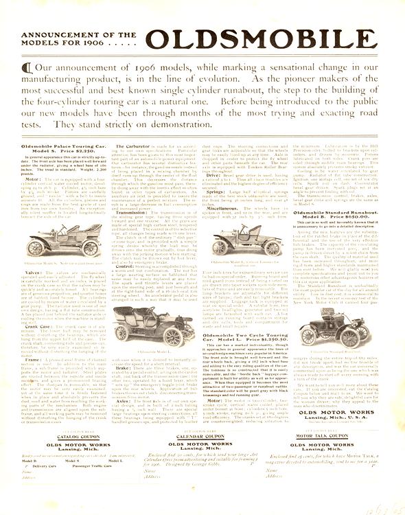 Oldsmobile 1906 0001