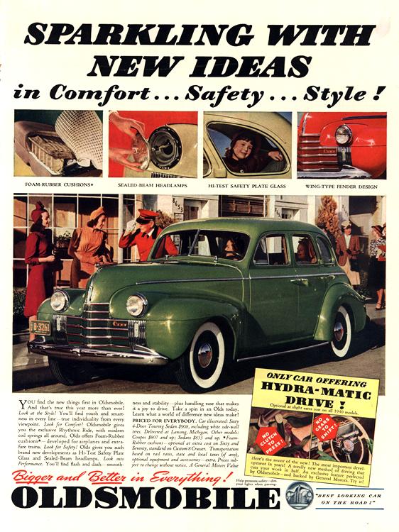 Oldsmobile 1940 0006