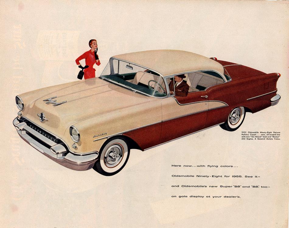 Oldsmobile 1955 0002
