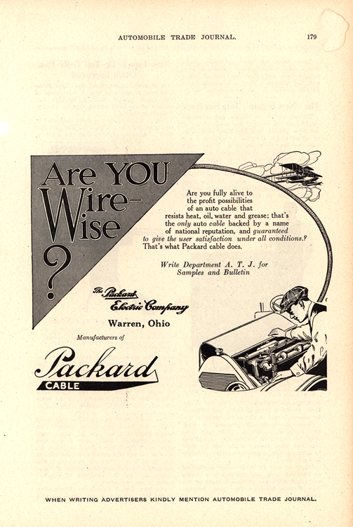 Packard Electric 1918 0001