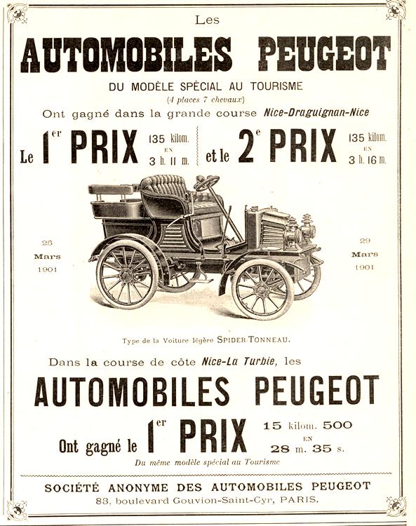 Peugeot 1901 0001
