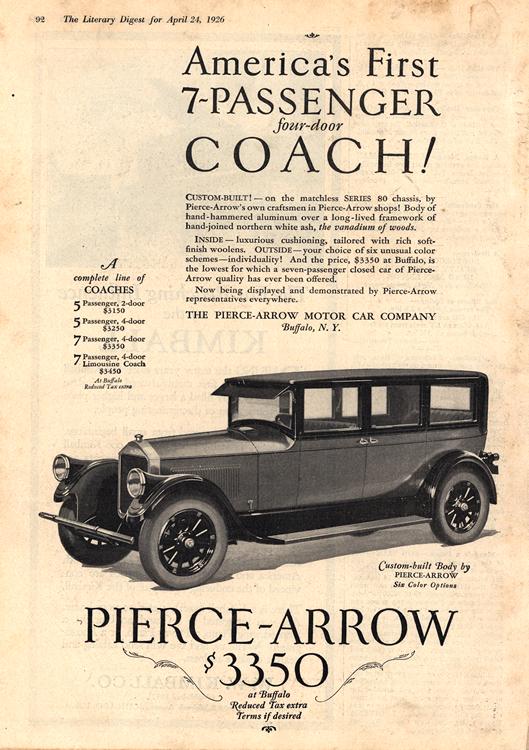 Pierce Arrow 1926 0001