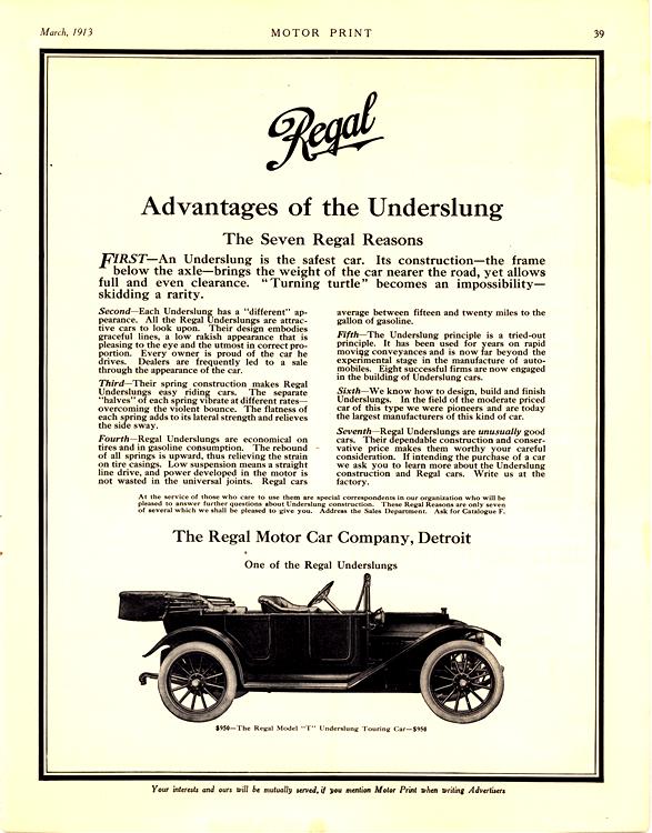 Regal 1913 0001