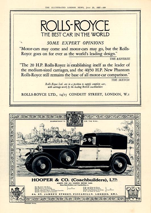 Rolls Royce 1927 0003