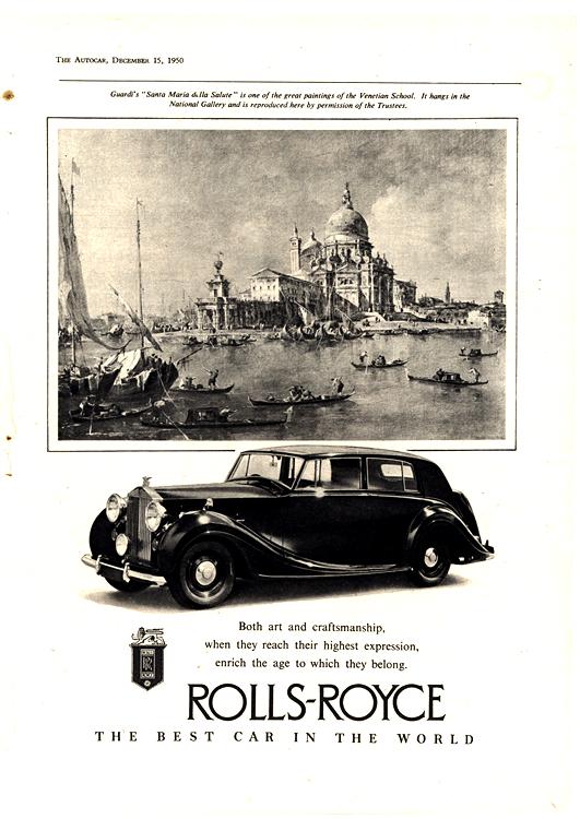 Rolls Royce 1951 0001