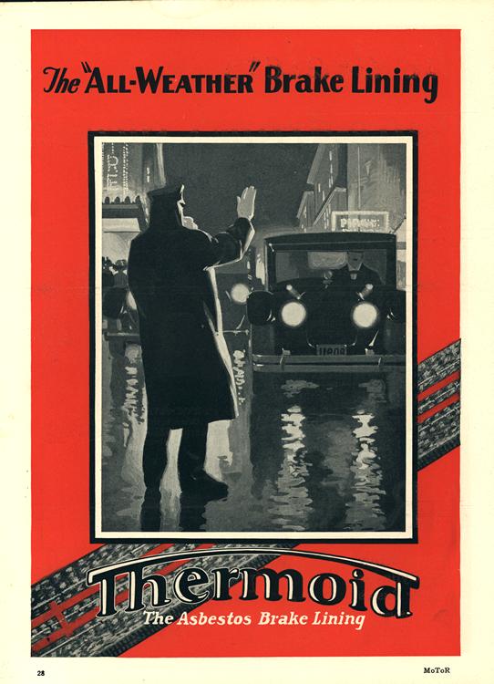Thermoid Brake Lining 1926 0001