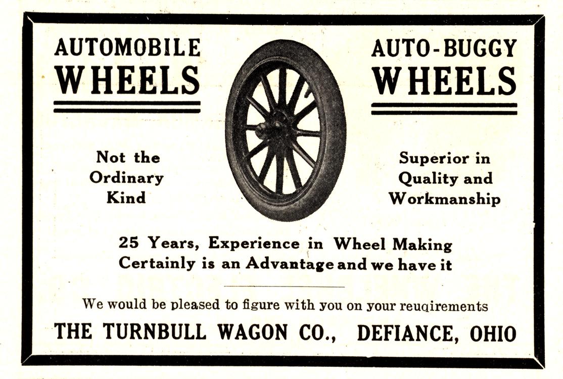 Turnbull Wagon Co. Wheels 1910 0001