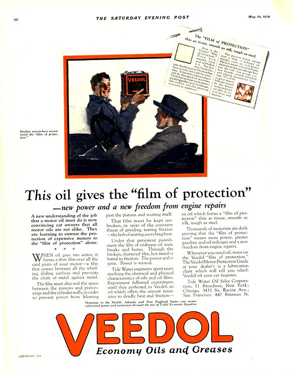 Veedol Oil 1924 0001