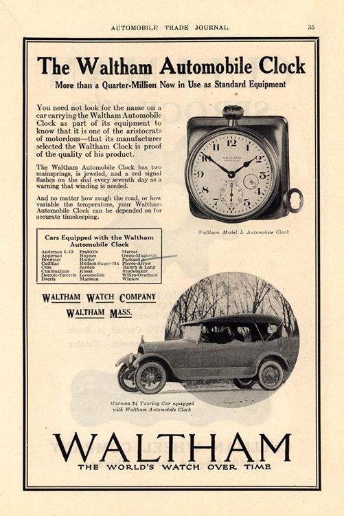 Waltham 1919 Clocks 0001