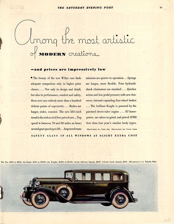 Willys 1931 0005