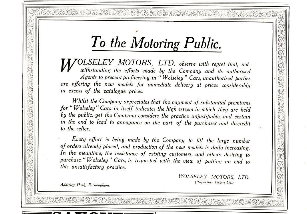Wolseley 1920 0001