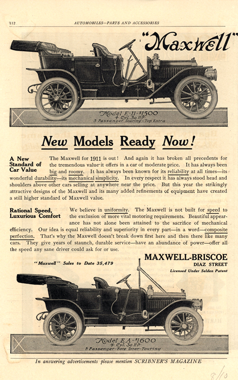 Maxwell 1911 0001n